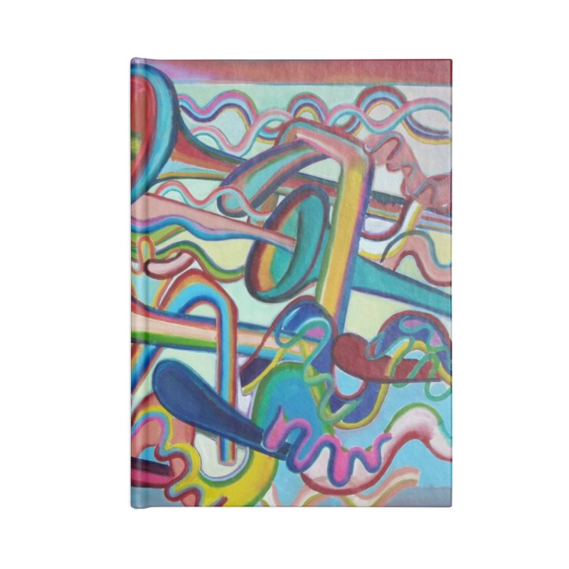 Composición verano 2 Accessories Notebook by diegomanuel's Artist Shop