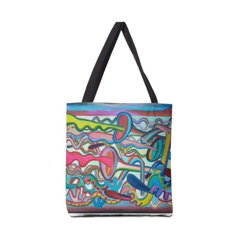 Composición verano 2 Accessories Bag by diegomanuel's Artist Shop