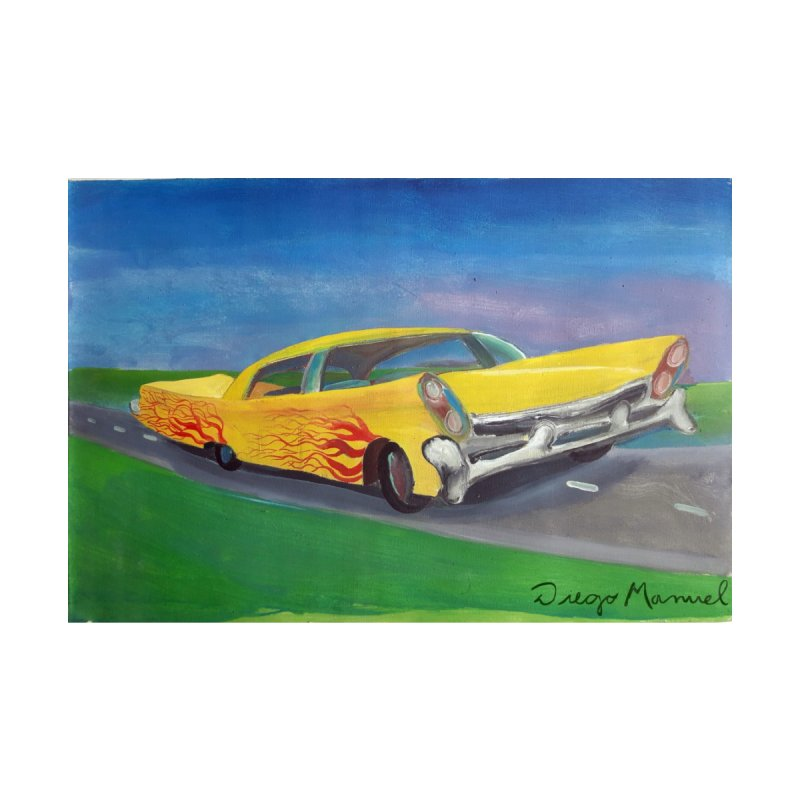 Auto de colección 1 Home Stretched Canvas by Diego Manuel Rodriguez Artist Shop