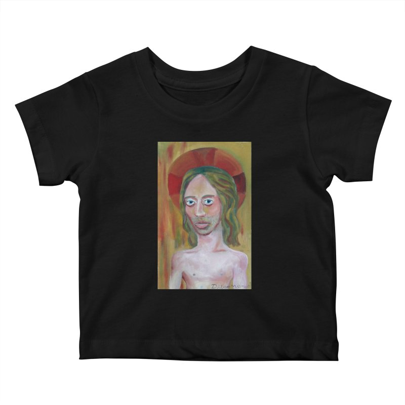 Jesús Kids Baby T-Shirt by diegomanuel's Artist Shop
