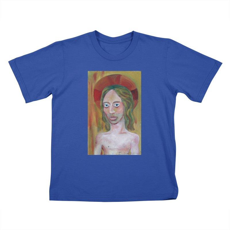 Jesús Kids T-shirt by diegomanuel's Artist Shop