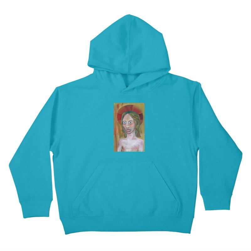 Jesús Kids Pullover Hoody by diegomanuel's Artist Shop