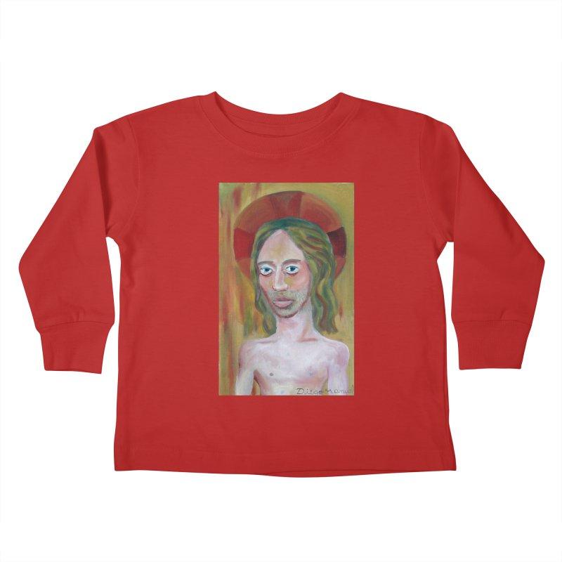 Jesús Kids Toddler Longsleeve T-Shirt by diegomanuel's Artist Shop