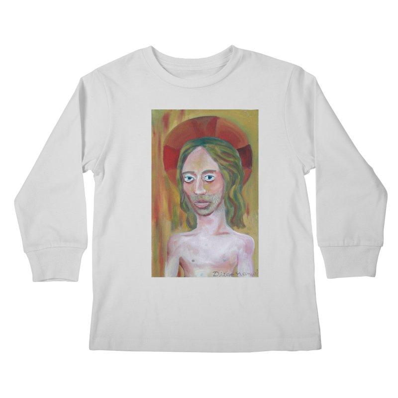 Jesús Kids Longsleeve T-Shirt by diegomanuel's Artist Shop