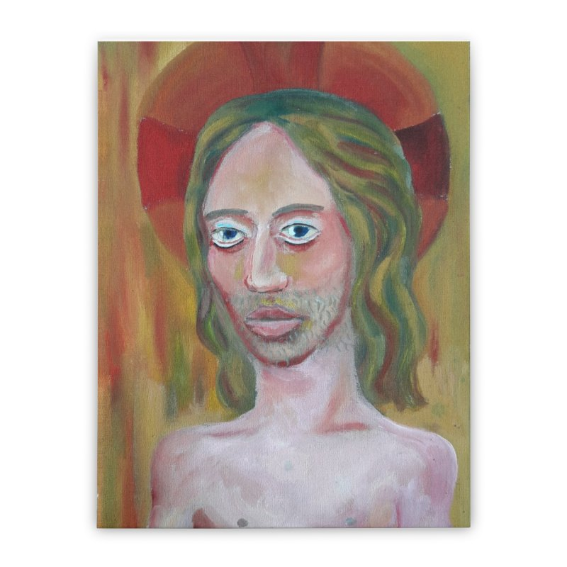 Jesús Home Stretched Canvas by Diego Manuel Rodriguez Artist Shop