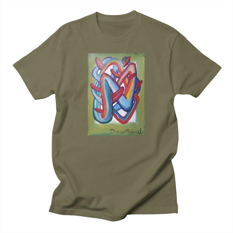 Formas en el espacio 8 Men's T-Shirt by Diego Manuel Rodriguez Artist Shop