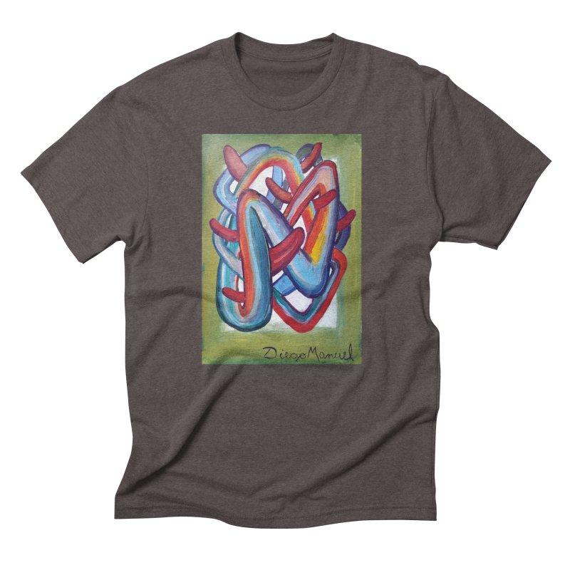 Formas en el espacio 8 Men's Triblend T-shirt by diegomanuel's Artist Shop