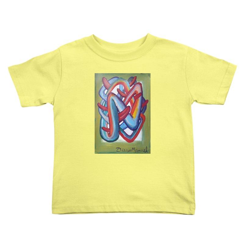 Formas en el espacio 8 Kids Toddler T-Shirt by diegomanuel's Artist Shop
