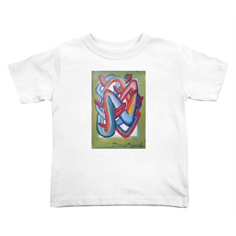 Formas en el espacio 8 Kids Toddler T-Shirt by diegomanuel's Artist Shop