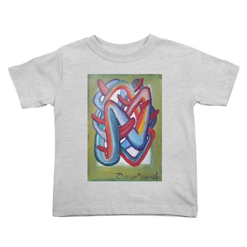 Formas en el espacio 8 Kids Toddler T-Shirt by Diego Manuel Rodriguez Artist Shop