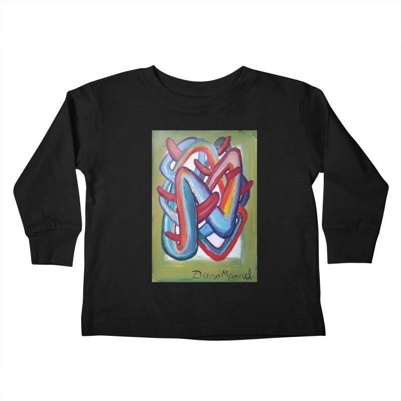 Formas en el espacio 8 Kids Toddler Longsleeve T-Shirt by Diego Manuel Rodriguez Artist Shop