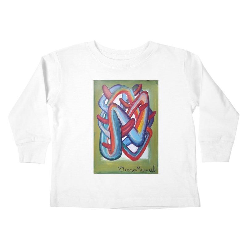 Formas en el espacio 8 Kids Toddler Longsleeve T-Shirt by diegomanuel's Artist Shop