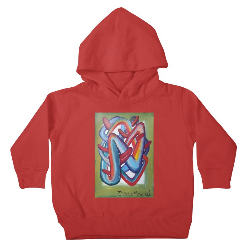Formas en el espacio 8 Kids Toddler Pullover Hoody by diegomanuel's Artist Shop