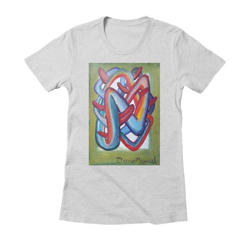 Formas en el espacio 8 Women's T-Shirt by Diego Manuel Rodriguez Artist Shop
