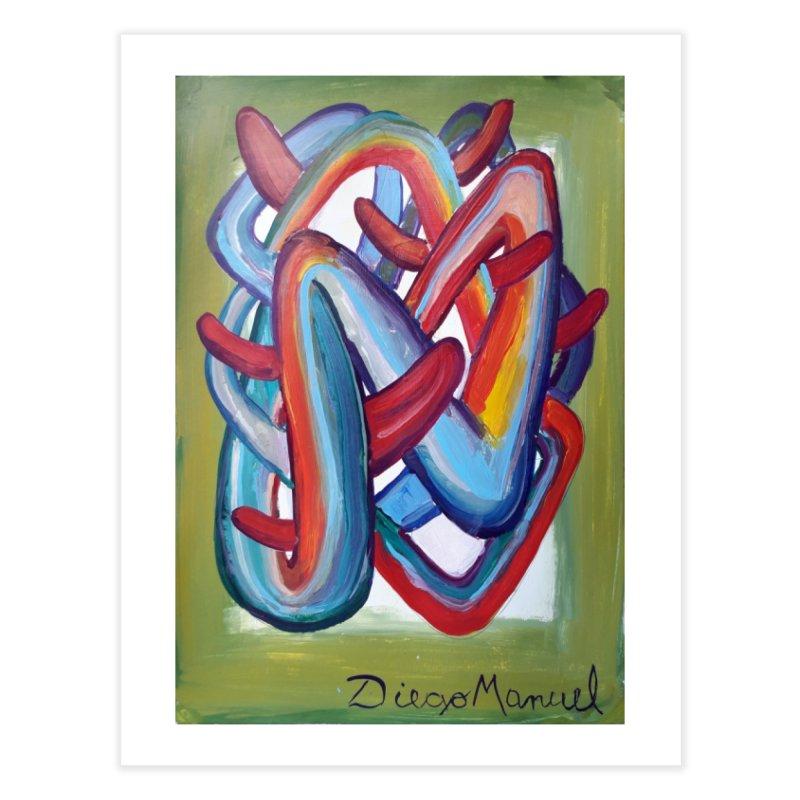 Formas en el espacio 8 Home Fine Art Print by Diego Manuel Rodriguez Artist Shop