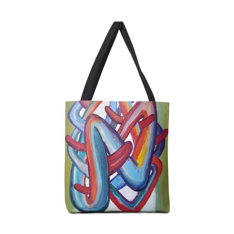 Formas en el espacio 8 Accessories Bag by diegomanuel's Artist Shop