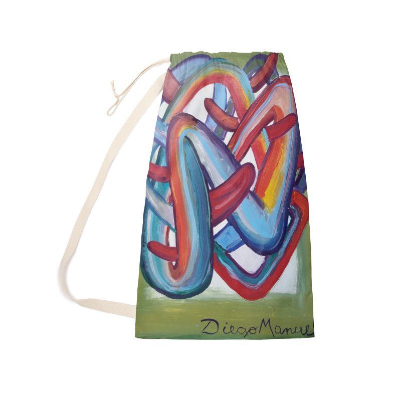 Formas en el espacio 8 Accessories Laundry Bag Bag by diegomanuel's Artist Shop