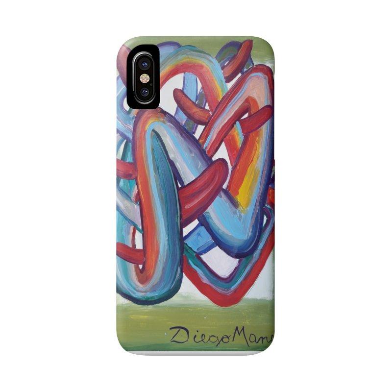 Formas en el espacio 8 Accessories Phone Case by diegomanuel's Artist Shop