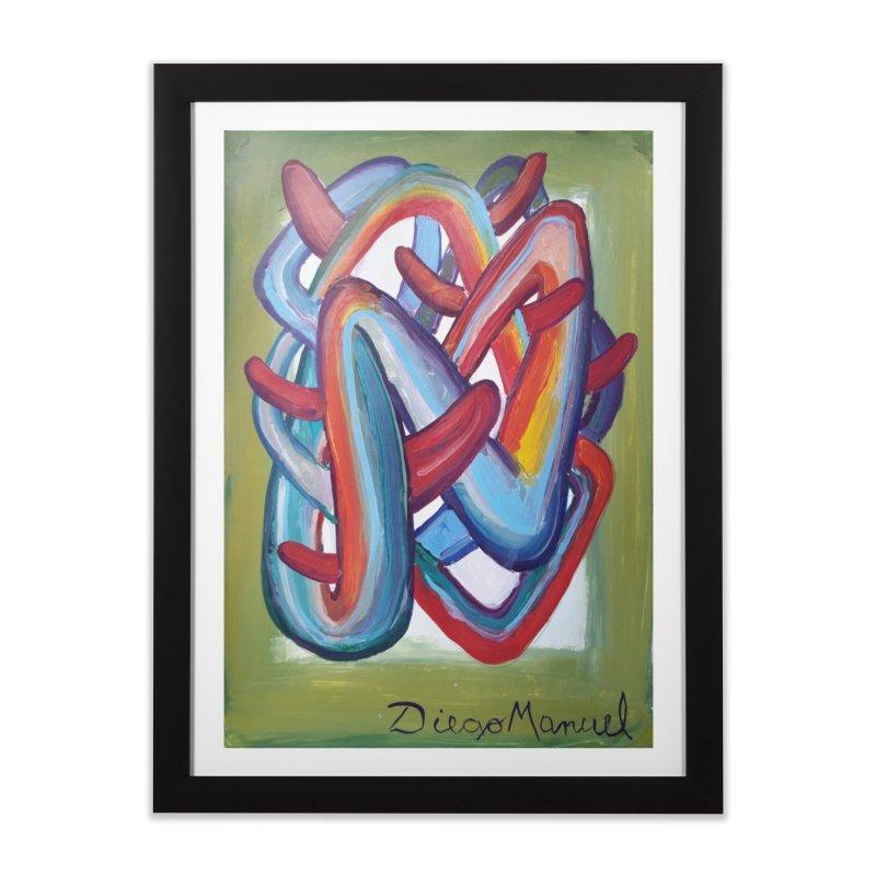 Formas en el espacio 8 Home Framed Fine Art Print by Diego Manuel Rodriguez Artist Shop