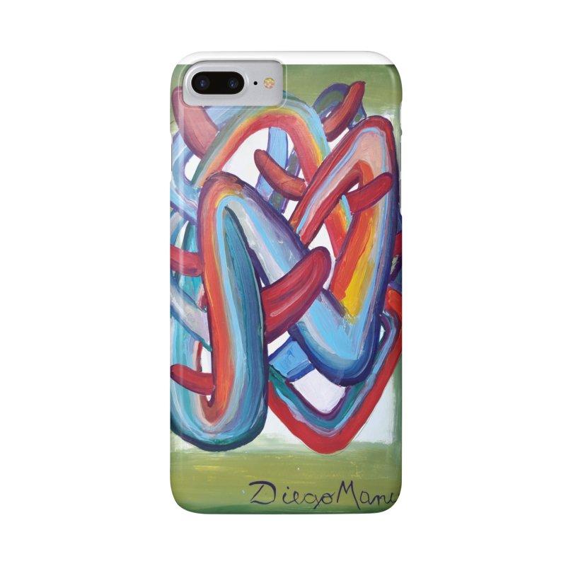 Formas en el espacio 8 Accessories Phone Case by Diego Manuel Rodriguez Artist Shop