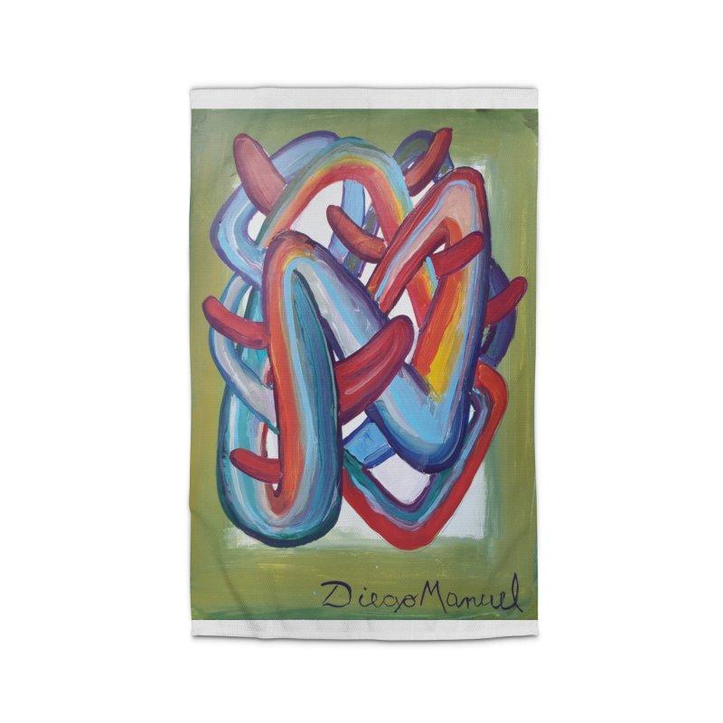 Formas en el espacio 8 Home Rug by diegomanuel's Artist Shop