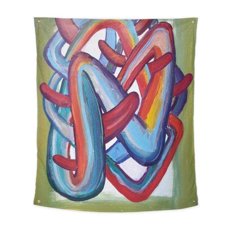 Formas en el espacio 8 Home Tapestry by Diego Manuel Rodriguez Artist Shop