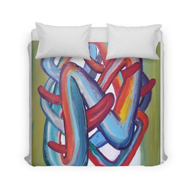 Formas en el espacio 8 Home Duvet by Diego Manuel Rodriguez Artist Shop