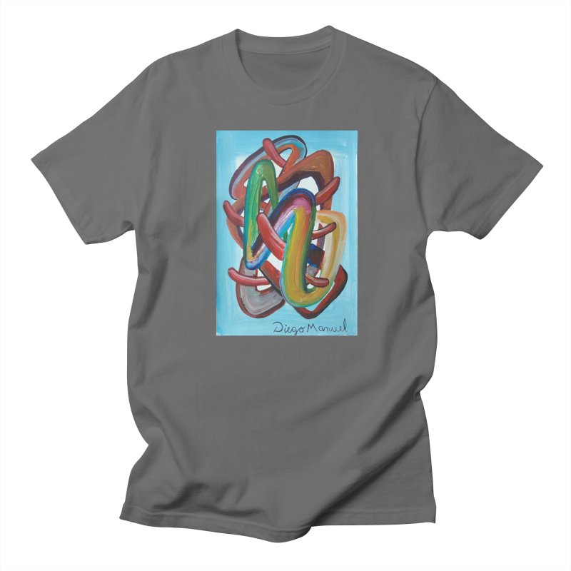 Formas en el espacio 7 Men's T-Shirt by Diego Manuel Rodriguez Artist Shop