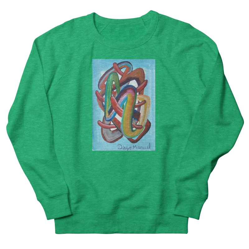 Formas en el espacio 7 Women's Sweatshirt by diegomanuel's Artist Shop