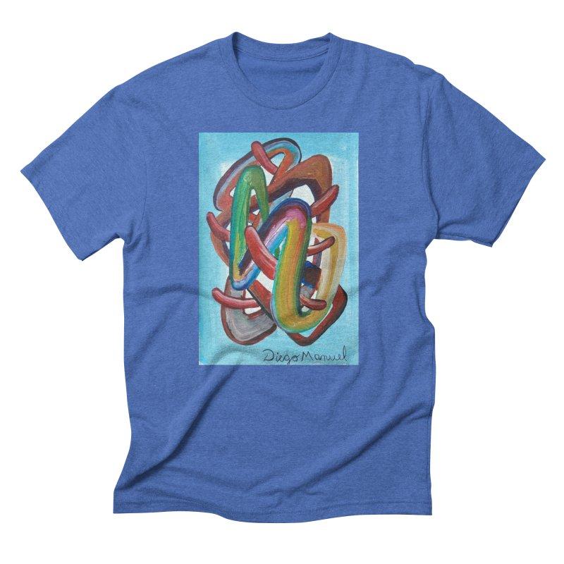 Formas en el espacio 7 Men's Triblend T-shirt by diegomanuel's Artist Shop