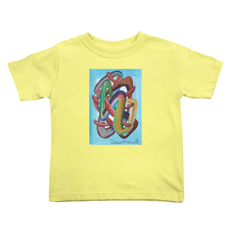 Formas en el espacio 7 Kids Toddler T-Shirt by diegomanuel's Artist Shop