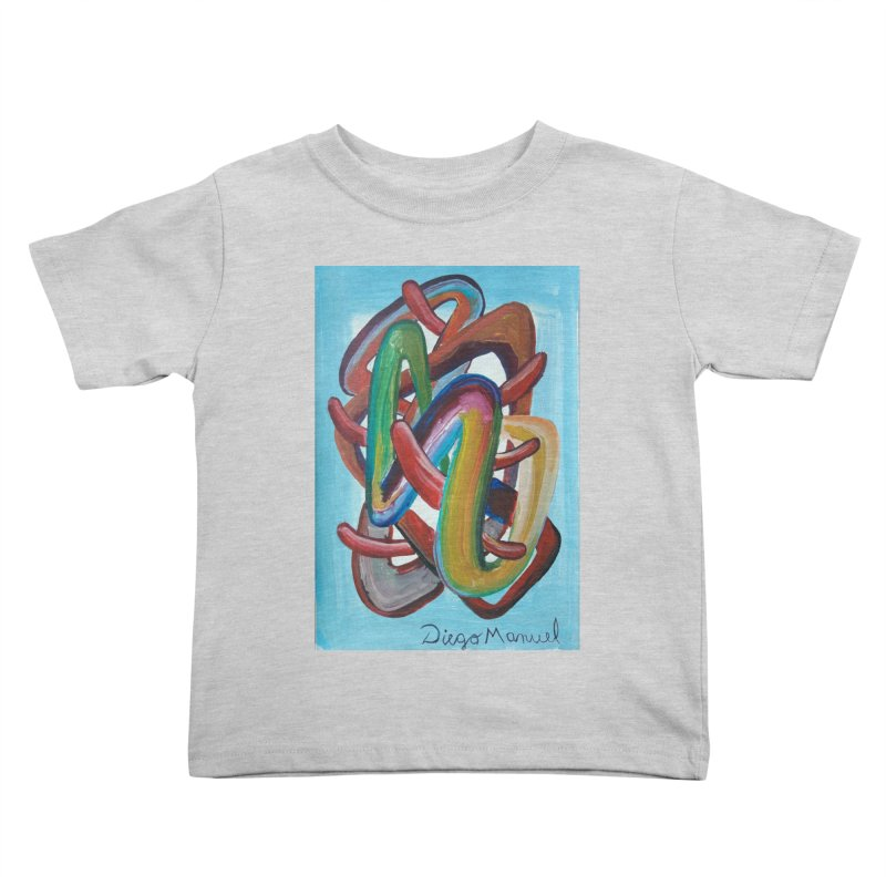 Formas en el espacio 7 Kids Toddler T-Shirt by diegomanuel's Artist Shop