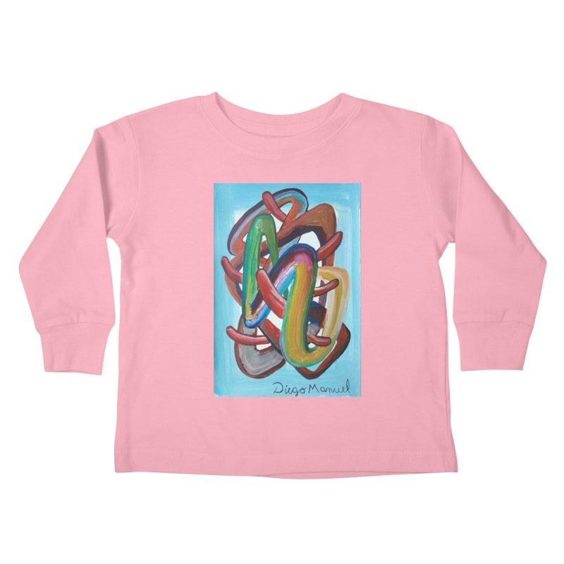Formas en el espacio 7 Kids Toddler Longsleeve T-Shirt by diegomanuel's Artist Shop