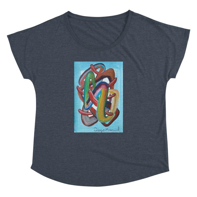 Formas en el espacio 7 Women's Dolman by diegomanuel's Artist Shop
