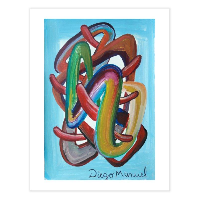 Formas en el espacio 7 Home Fine Art Print by Diego Manuel Rodriguez Artist Shop