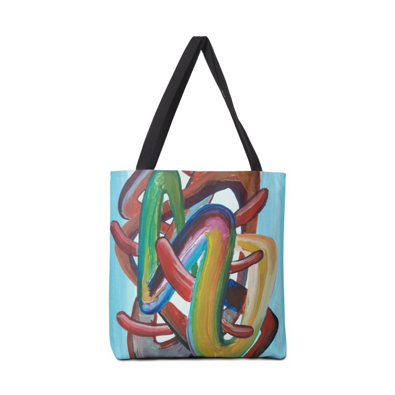 Formas en el espacio 7 Accessories Tote Bag Bag by diegomanuel's Artist Shop