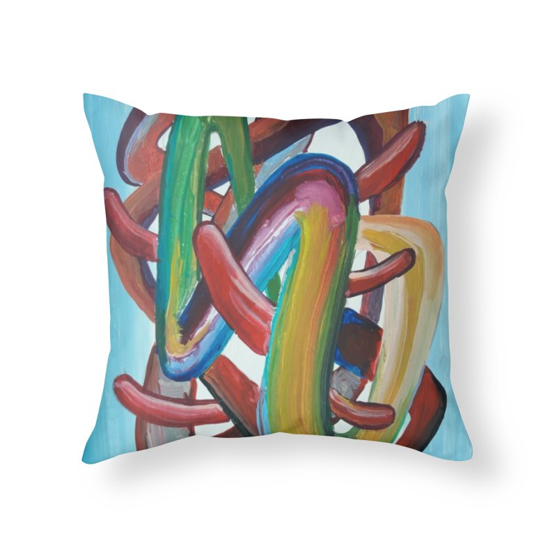 Formas en el espacio 7 Home Throw Pillow by diegomanuel's Artist Shop