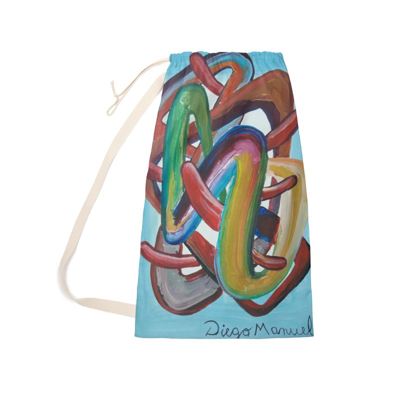 Formas en el espacio 7 Accessories Laundry Bag Bag by diegomanuel's Artist Shop
