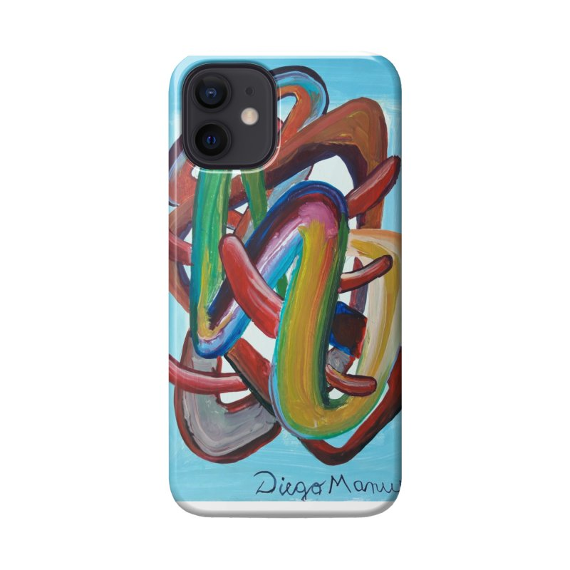 Formas en el espacio 7 Accessories Phone Case by Diego Manuel Rodriguez Artist Shop