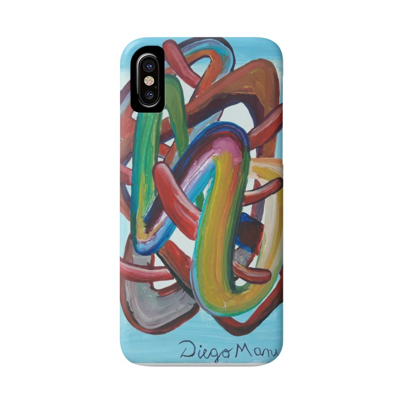 Formas en el espacio 7 Accessories Phone Case by diegomanuel's Artist Shop