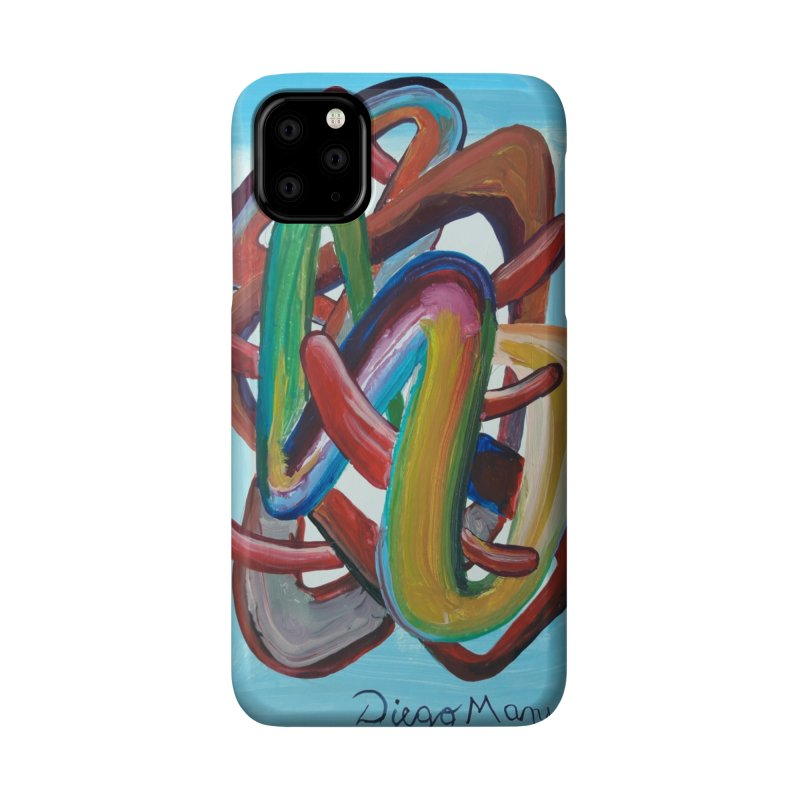 Formas en el espacio 7 Accessories Phone Case by diegomanuel's Artist Shop