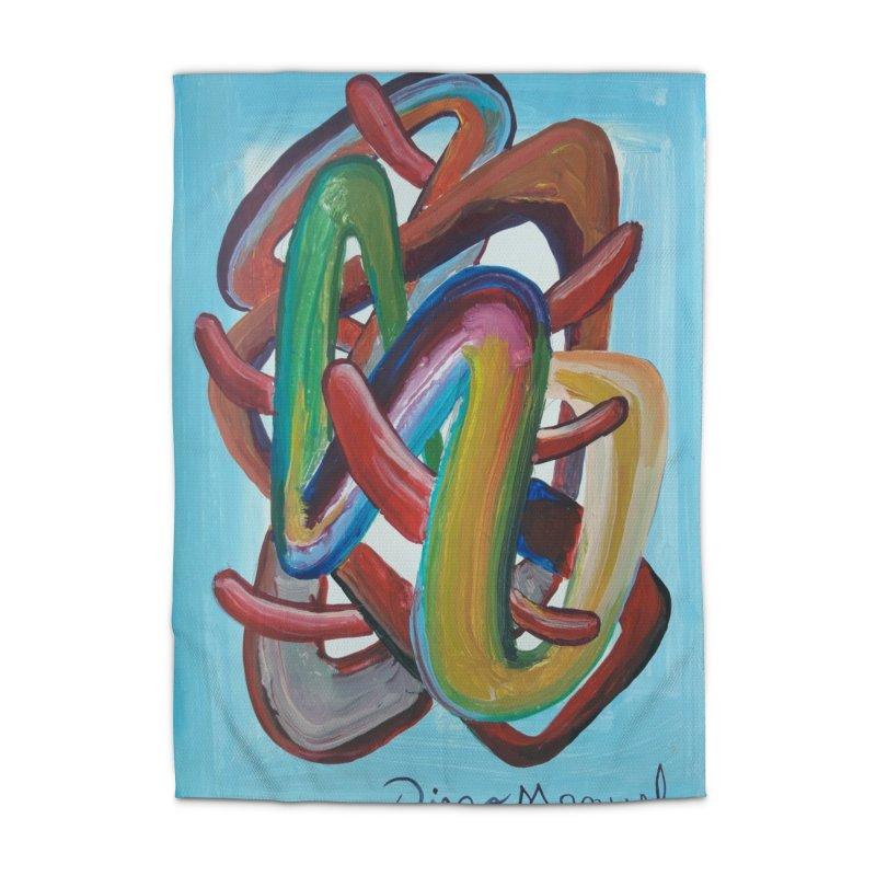 Formas en el espacio 7 Home Rug by Diego Manuel Rodriguez Artist Shop