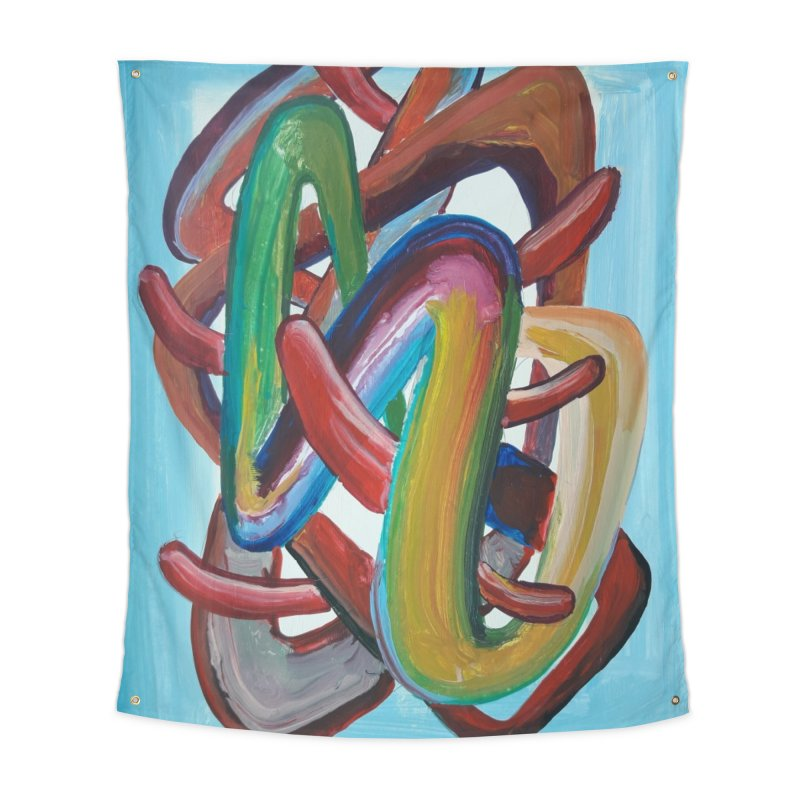 Formas en el espacio 7 Home Tapestry by Diego Manuel Rodriguez Artist Shop