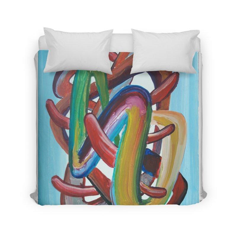Formas en el espacio 7 Home Duvet by diegomanuel's Artist Shop
