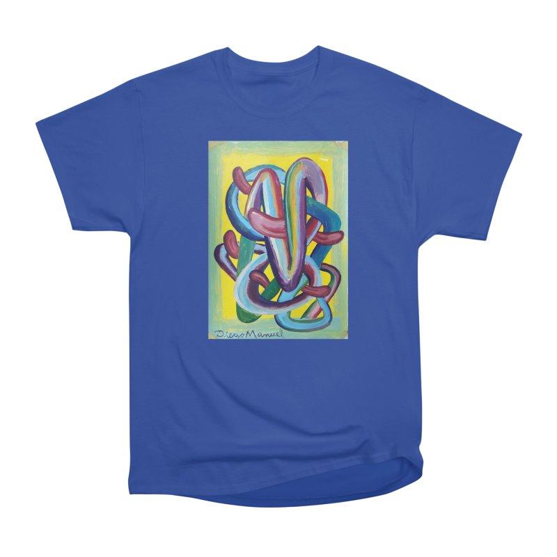 Formas en el espacio 6 Men's T-Shirt by Diego Manuel Rodriguez Artist Shop