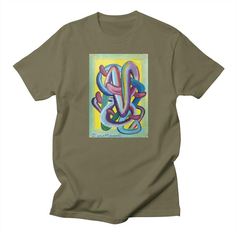 Formas en el espacio 6 Men's T-shirt by diegomanuel's Artist Shop