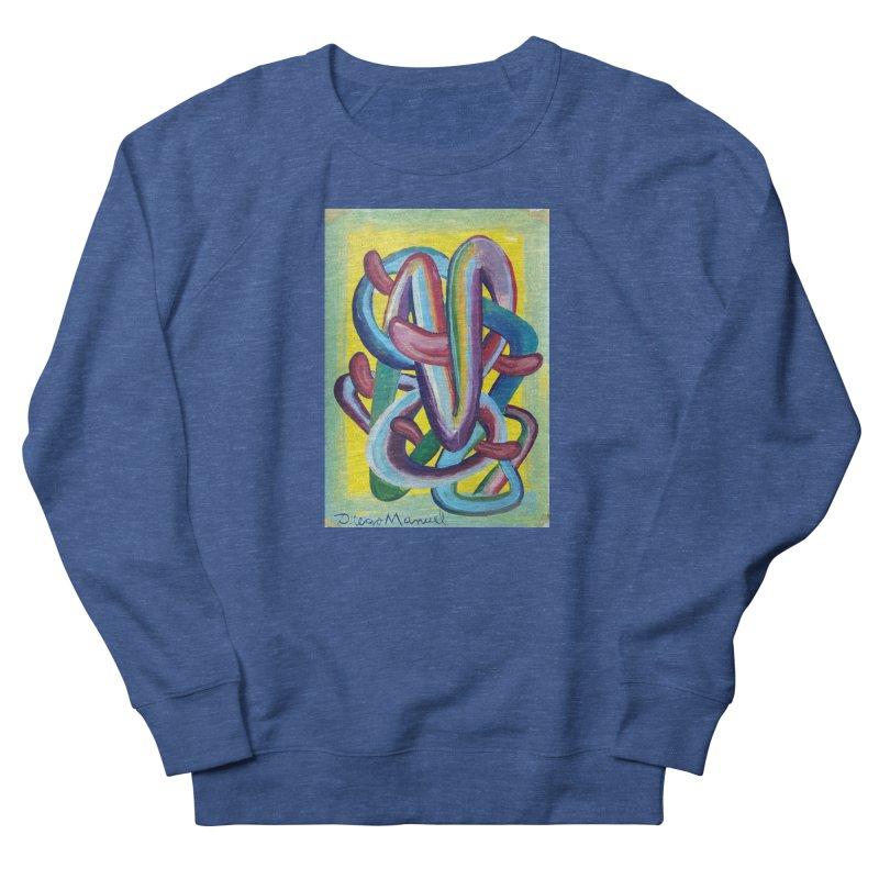 Formas en el espacio 6 Men's Sweatshirt by Diego Manuel Rodriguez Artist Shop