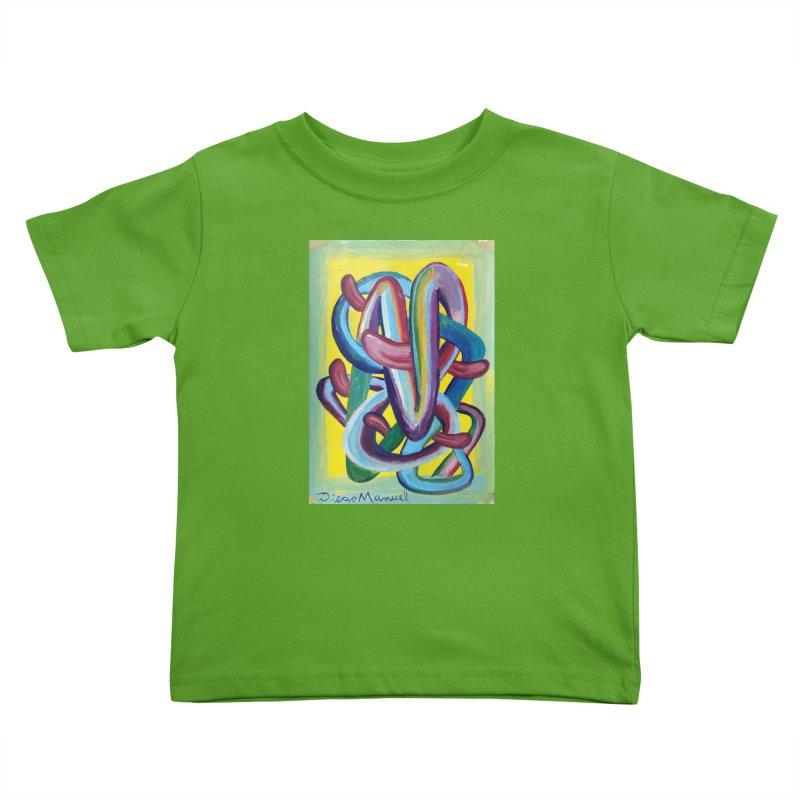 Formas en el espacio 6 Kids Toddler T-Shirt by Diego Manuel Rodriguez Artist Shop