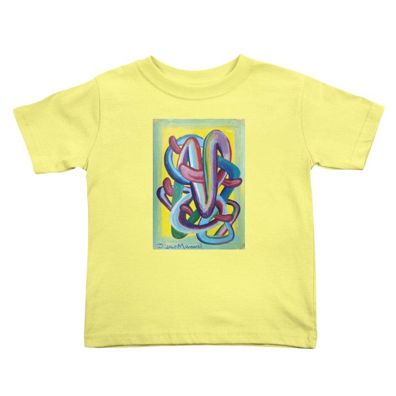 Formas en el espacio 6 Kids Toddler T-Shirt by diegomanuel's Artist Shop