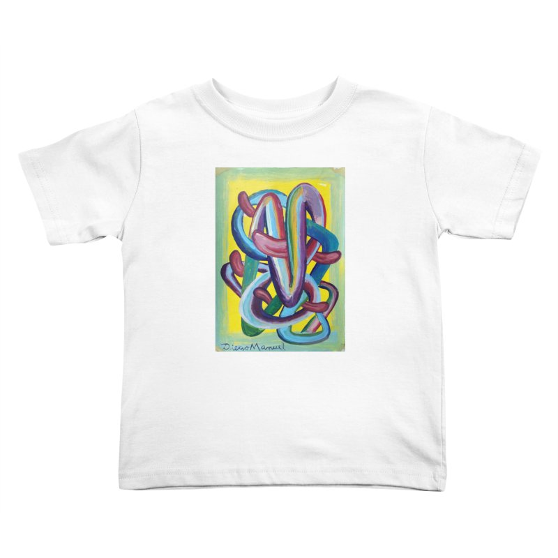 Formas en el espacio 6 Kids Toddler T-Shirt by diegomanuel's Artist Shop